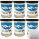 Bounty Brotaufstrich mit Kokosnussflocken 6er Pack...