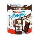Kinder Riegel Dark & Mild 3er Pack (3x 18 Riegel 378g...