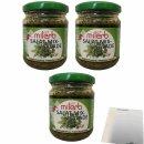 Milerb Salat Mix Kräuterzubereitung 3er Pack (3x200g...