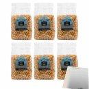 Mediza Popcorn Mais 100% Natural 6er Pack (6x400g Beutel)...