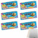 Motta Yo-Yo Kekse 6er Pack (6x210g Packung) + usy Block