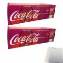 Coca Cola Zero 24x0,33l Cans (Coke Zero)