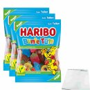 Haribo Bunte Tüte Veggie 3er Pack (3x200g Beutel) +...