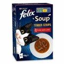 Felix Soup Tender Strips Land (6x 48g Packung)