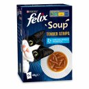 Felix Soup Tender Strips mit Fisch (6x 48g Packung)