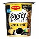 Maggi Magic Asia Saucy Noodles Asia Classic (8x75g Becher)