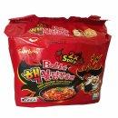 Samyang Hot Chicken Flavor Ramen Buldak 2x Spicy 6er Pack...