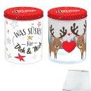 Ferrero duplo Weihnachtsdose mit 24 Riegeln Doppelpack...