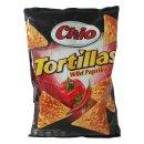 Chio Tortilla Chips Wild Paprika (125g Beutel)