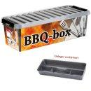 BBQ Barbecue Grill-Box XXL mit Einsatz (9,5 Liter)...