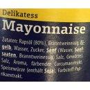 Appel Delikatess Mayonnaise 80% Rapsöl (500ml Glas)