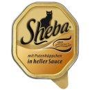 Sheba mit Putenhaeppchen in heller Sauce, 100g