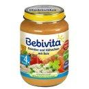 Bebivita Gemüse mit Hühnchen und Reis (190g Glas)