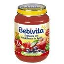 Bebivita Erdbeere mit Heidelbeere in Apfel, 190g