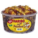 Haribo Freche Füchse (150Stk. Runddose)