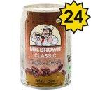 Mr. Brown Coffee-Drink Classic (24x0,25l Dosen)