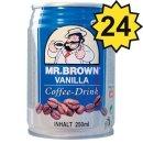 Mr. Brown Coffee-Drink Vanilla (24x0,25l Dosen)