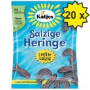 Katjes Salzige Heringe (20x 200g Beutel)