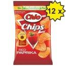 Chio Chips Red Paprika (12x 50g Tütchen)
