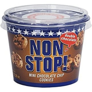 Non Stop Mini Cookie Chocolade, 16x 65g