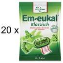Em-eukal klassisch Bonbons, Hustenbonbons (20x 75g Beutel)
