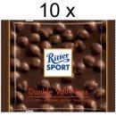Ritter Sport Dunkle Voll Nuß (10x 100g...