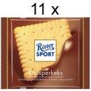 Ritter Sport Knusperkeks (11x100g Tafeln)