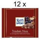 Ritter Sport Trauben-Nuss (12x 100g)