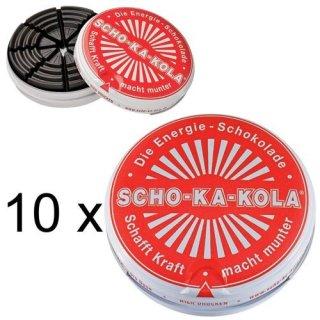 SCHO-KA-KOLA (10x x 100g Dosen)