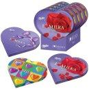 I Love Milka Pralines Herz Schokolade (12x 187g Packung)