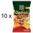 Funny-Frisch Chipsfrisch Currywurst Style (10x175g Beutel)