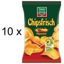 Funny-Frisch Chips Frisch Peperoni (10x175g Tüten)