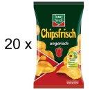 Funny-Frisch Chips Frisch Ungarisch (20x175g Tüten)
