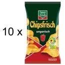 Funny-Frisch Chips Frisch Ungarisch (10x175g Tüten)