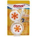 """domol WC-Duftsteine """"Orange"""" 3x45g"""