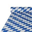 Papstar Tischdecke Folie Bayrisch Blau 20x1m (1 Stck....