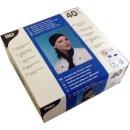 40 Bandana schwarz (moderne Koch-Kopfbedeckung zum Knoten...
