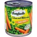 Bonduelle Erbsen mit Möhrchen, zart und fein (1X400g...
