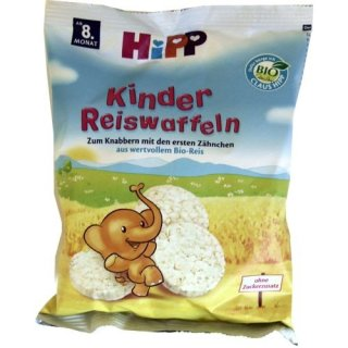 Hipp Kinder Reiswaffeln (40g Beutel)