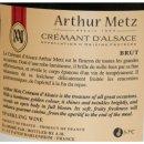 Arthur Metz Cremant D Alsac, 12% Vol. (0,75l Flasche)