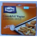 Toppits Cross und Frit Papier zum Backen 37x30cm (8...