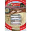 Müllers Hausmacher Wurst Leberwurst (160g Glas)