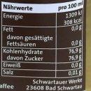 "Schwartau Kaffee-Sirup Coffee Shop ""Vanille""..."