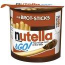 Ferrero nutella & GO! mit Brotsticks (52g Packung)